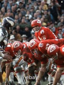 Rk Vintage Style Kansas City Chiefs Casque De Football Len Dawson Super Bowl IV 4