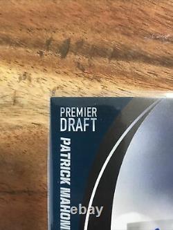Sage Hit Premier Draft 2017 Patrick Mahomes Rookie Auto Chiefs Mvp Super Bowl