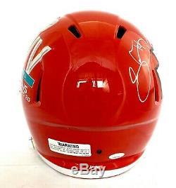 Sammy Watkins Signé Chiefs Kc Super Bowl Speed fs Casque Jsa Coa # Wpp835341