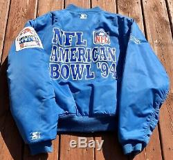 Starter 1994 Tokyo Bowl Vintage Veste Chiefs Kc Vs Vikings Min Rare Taille L