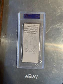 Super Bowl I Packers Vs Chefs Psa 4 Graded Complet Ticket Rare