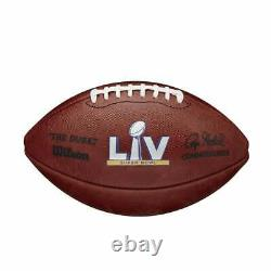 Super Bowl LV 55 Chefs Buccaneers Bucs Official Wilson Authentic Game Football