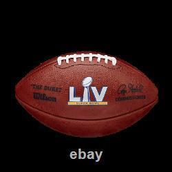 Super Bowl LV 55 Chefs Buccaneers Officiel Wilson Jeu Authentique Football Boxed
