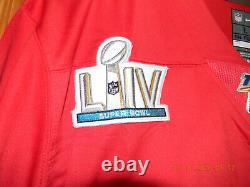 Tout Nouveau Avec Tags Patrick Mahomes Kansas City Chiefs Superbowl 54 Jersey, Grand