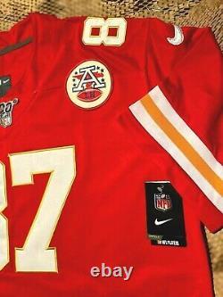 Travis Kelce #87 Kansas City Chiefs Super Bowl 54 Champions Jersey XL