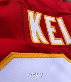 Travis Kelce Kansas City Chiefs Jeu A Effectué Super Bowl LIV Jersey