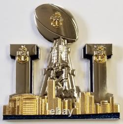 Usn Super Bowl 51 LI Houston Texas Chief Cpo Us Navy Patriots Falcons Pièce