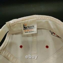 Vintage 90s Kansas City Chiefs NFL Sports Specialties Authentic Snapback Hat