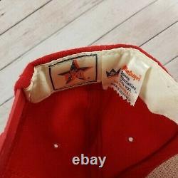 Vintage Années 1980 Kansas City Chiefs Sports Spécialités Wool Snapback Hat