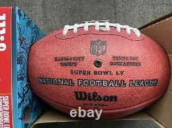 Wilson Official Super Bowl LV Football Kansas City Chiefs Vs Tampa Bay Buccaneer